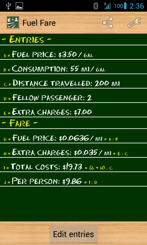 Fuel Fare - screenshot