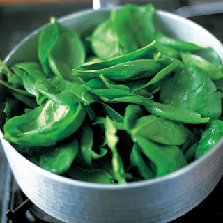 Perfect Braised Spinach.