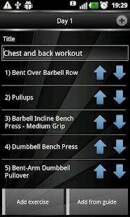 Gym Book: training notebook - screenshot thumbnail