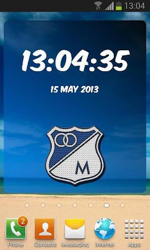 Millonarios Digital Clock
