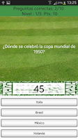 Screenshot of Trivial Mundiales de Fútbol