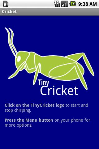 Cricket - screenshot