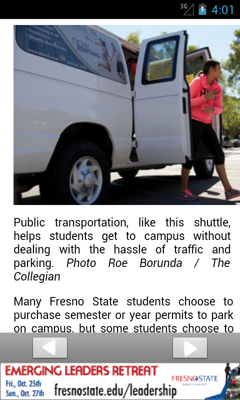 Fresno State Collegian - screenshot