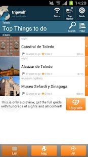 Toledo Highlights Guide - screenshot thumbnail