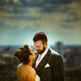by Rob Giannese - Wedding Bride & Groom ( Wedding, Weddings, Marriage )