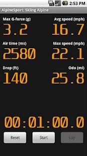 AlpineSport screenshot