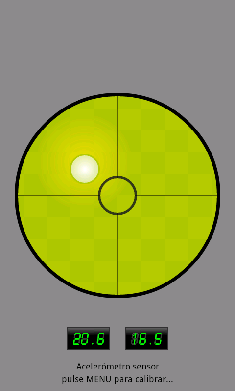 Spirit Level with bubble- screenshot