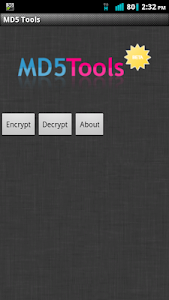 MD5 Tools screenshot 0