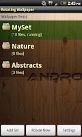 Screenshot of Rotating Wallpaper