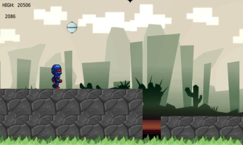 Space Monkey Robot - screenshot