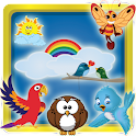 Aves Kids Memory Game icon