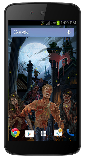 Zombie18+ free Livewallpaper
