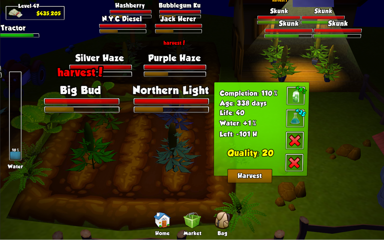 Weed Wars: Episode 1 - screenshot
