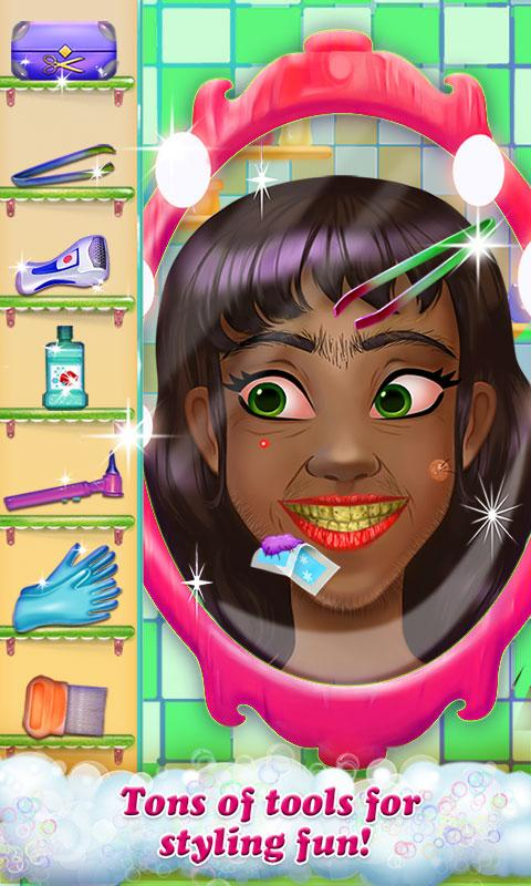 Hairy Face Salon - Makeover- screenshot