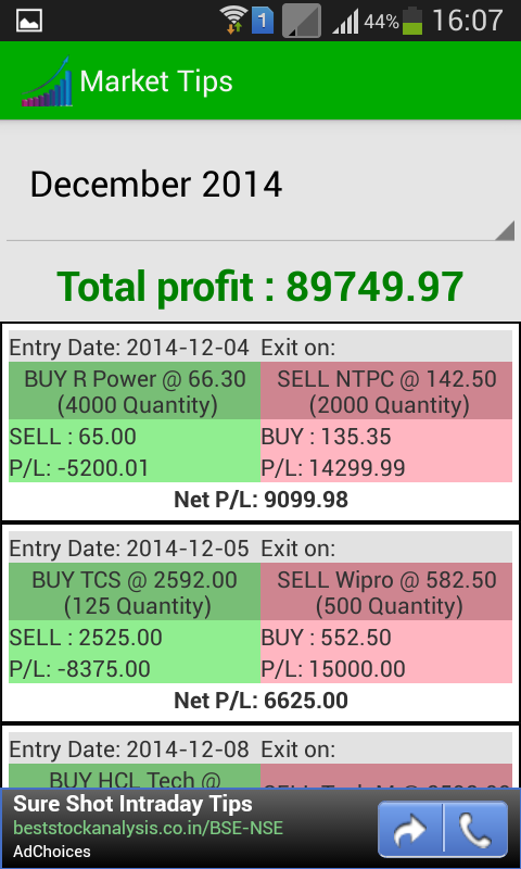FREE Stock Market Trading Tips- screenshot