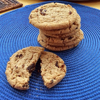 Almond Butter Raisin Cookies