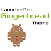 LauncherPro Gingerbread Theme