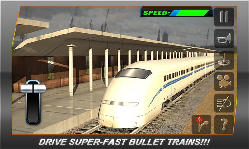 bullet train subway station 3d android apps on google play. Black Bedroom Furniture Sets. Home Design Ideas