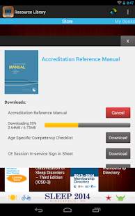 AASM Resource Library - screenshot thumbnail