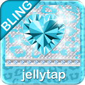 ♦BLING♦ Theme Teal Leopard SMS icon