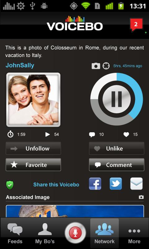 VoiceBo - screenshot