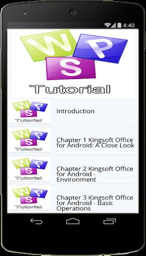 Free Kingsoft Office Tutorials