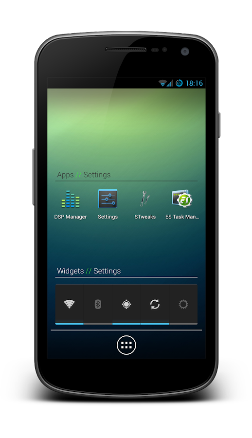 Holo Label Widget - screenshot