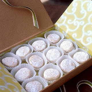 Lime Meltaways from ''The Martha Stewart Show''.