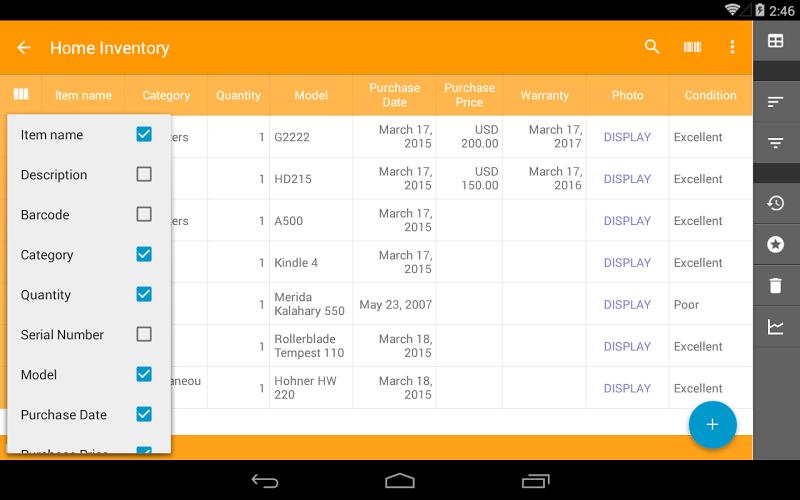 Memento Database Screenshot 14