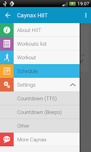 HIIT - interval training timer - screenshot thumbnail