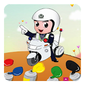 Free Police Game Coloring