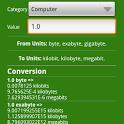 Auto unit converter icon
