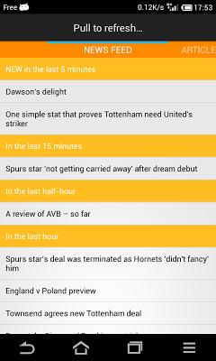 NewsNow - screenshot