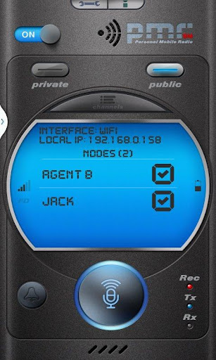 PMR - Walkie Talkie WiFi PRO
