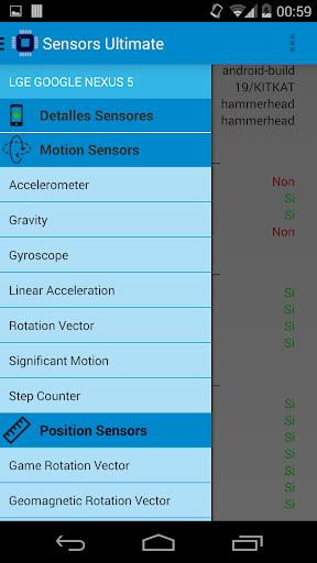 Sensors Ultimate
