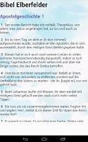 Screenshot of Bibel ElberFelder