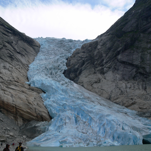 Norway:Burikusudaru glacier