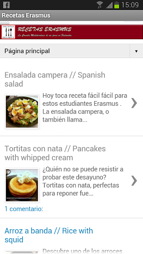 Erasmus Recipes