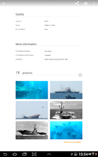 Wannadive - Dive site atlas- screenshot thumbnail
