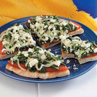 Greek Pizzas.