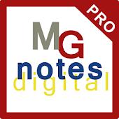 MGnotes Digital Notes Map