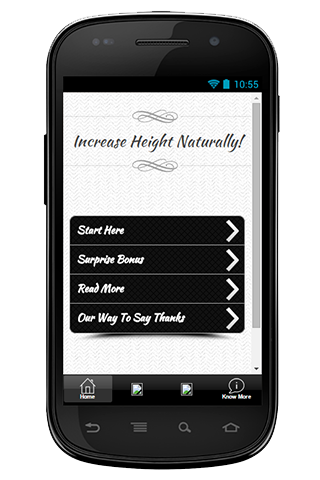 Increase Height Naturally Tip