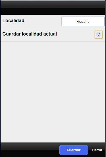Pronóstico Extendido - screenshot