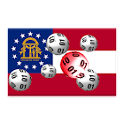 Georgia winning numbers icon