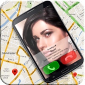 Caller Locator Full Screen ID