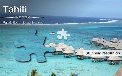 Tahiti Jigsaw Puzzles Demo
