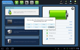Screenshot of Battery Booster Free (Tablet)