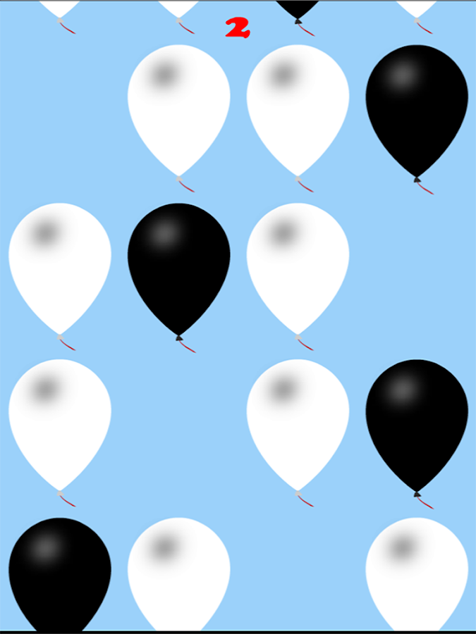 Don't Pop the White Balloons- screenshot