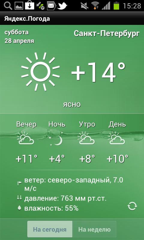 Yandex.Weather - screenshot
