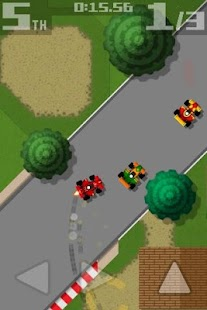 Retro Racing- screenshot thumbnail